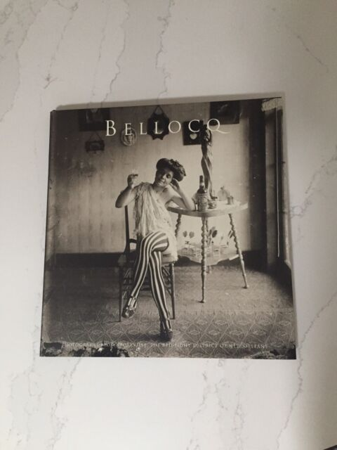 Bellocq: Photographs from Storyville HC Sontag New Orleans Like New!