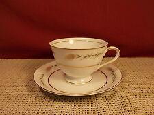 Empress Fine China Grano 1813 Pattern Cup & Saucer Set