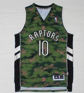 eb78a4b6584 Toronto Raptors DeMar DeRozan Men's Camo Jersey Size S M L XL XXL | eBay