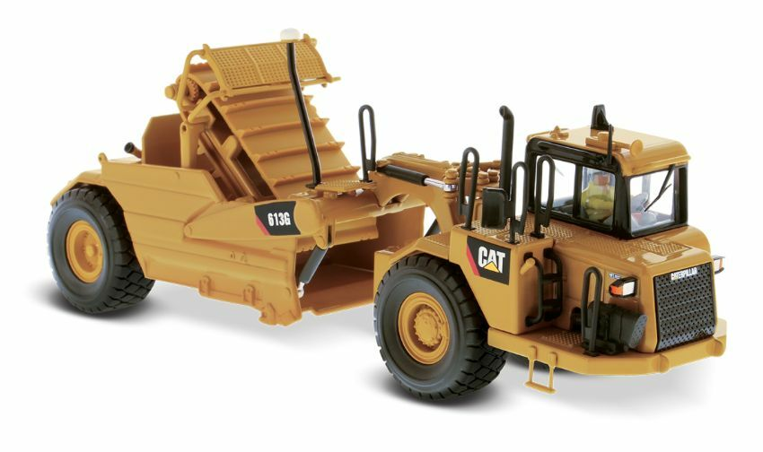 Diecast Escala 85235 1 50 Masters whed Cat 613G Rascador de tractor (MIB)