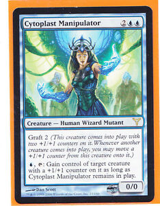 MTG-Magic-1-x-Dissension-Rare-CYTOPLAST-MANIPULATOR-Creature-Never-played