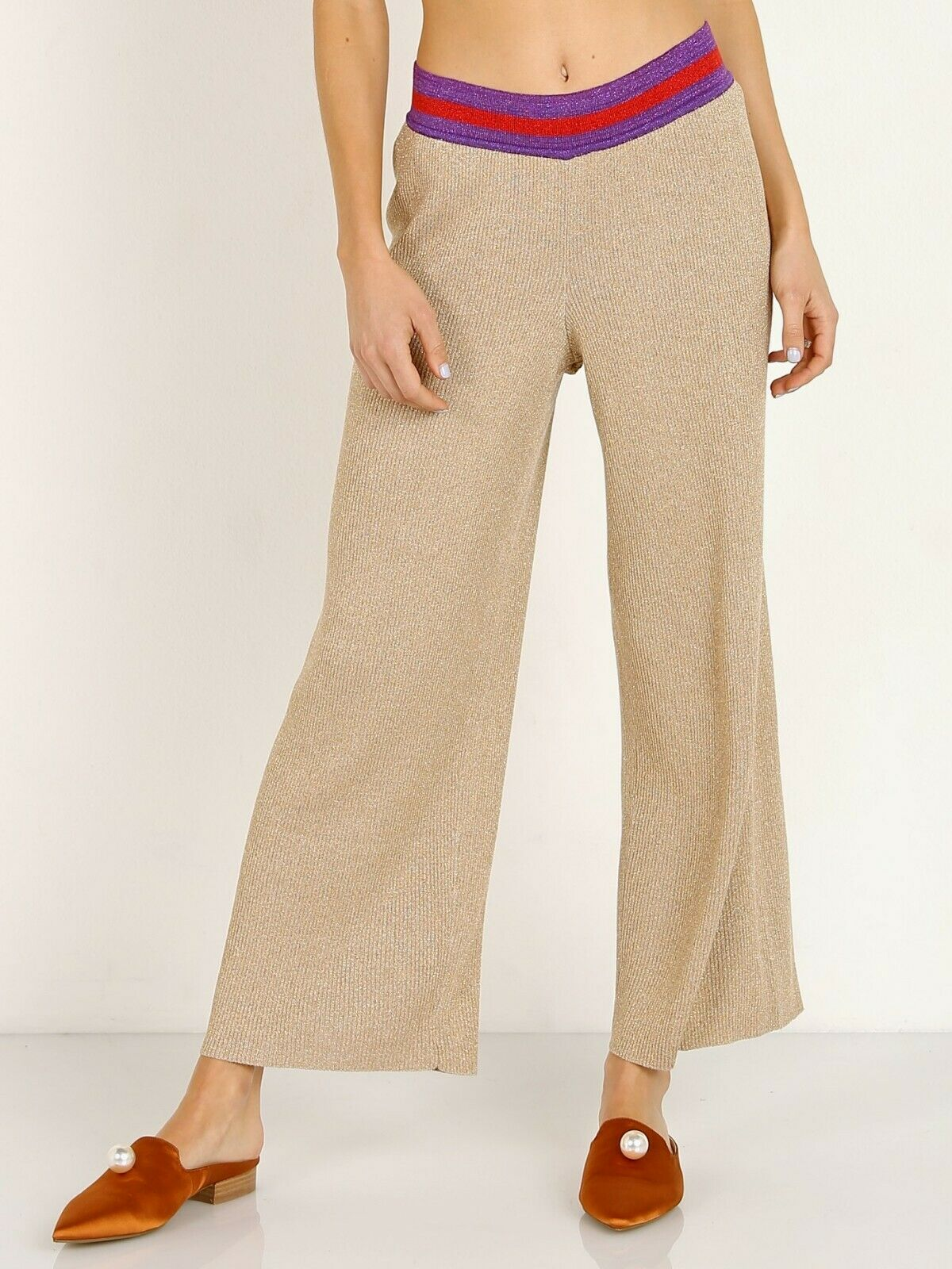 NWT Anthropologie Splendid x Margherita Fiesta Sweater Pants Size S
