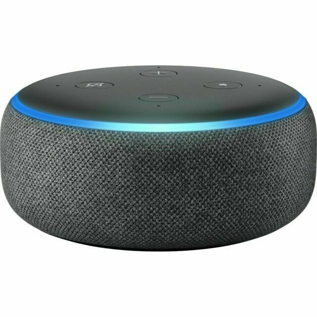 Amazon Echo Dot 3rd Generation Smart Speaker with Alexa-Charcoal-Free Shipping-