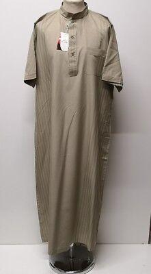 Kandorah.dishdash Size 56 To 62 Reliable Hombre Marroquí Corto Manga Thobe Jubba