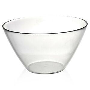 Bormioli-Rocco-Large-Mixing-Serving-Salad-Bowl-Clear-Classic-Italian-Tableware