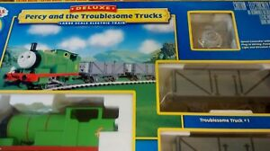 Ordonné Bachmann Thomas G Scale Percy And The Troublesome Trucks Train Set