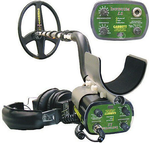 NEW - Garrett Infinium LS Underwater/Land Metal Detector - GOLD package