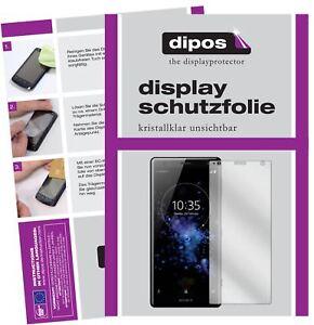 2x-Sony-Xperia-XZ2-Compact-Film-de-protection-d-039-ecran-protecteur-clair-dipos