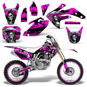 Strange Details About Decal Graphic Kit Honda Crf150 R 150 Dirt Bike Wrap Crf 150R 2007 2016 Reap Pink Interior Design Ideas Truasarkarijobsexamcom