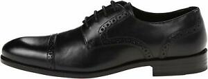 Stacy-Adams-Mens-prescott-Lace-Up-Dress-Oxfords-Black-Size-7-0-L4e4