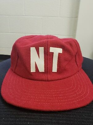 cheapest price really comfortable presenting Vintage New Era Pro Model Wool Baseball Hat Cap NT Logo 1930s, 40s ...