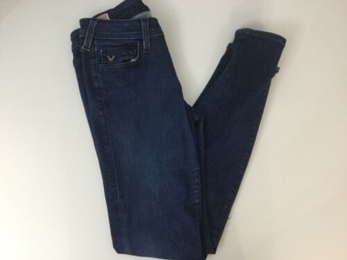 skinny Pantalon fonc jean en bleu gxgwCX1