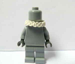 Lego-Neck-Ruffle-Frilly-Collar-Minifigure-Not-Included-Thespian-Actor-Series