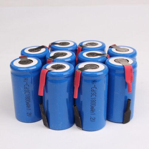 12 Pcs Nicd Sub C Sc 1.2v 1800mah Rechargeable Battery -- Blue - unbranded/generic - ebay.co.uk