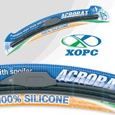 "18"" 450mm & 18"" 450mm XOPC ACROBAT EXTREME 100% SILICONE WIPER BLADES AERO FLAT"