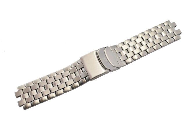 Luminox F-35 Lightning 9382 24mm Steel Bracelet Watch Band Strap 9380