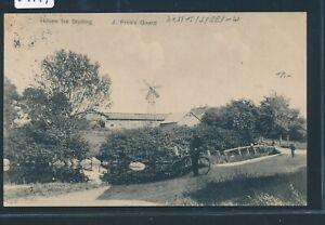 34919) Bahnpost Allume Des Querelles Vie-woyens Train 881, Ak Hilsen Fra Styding, Moulin >-afficher Le Titre D'origine