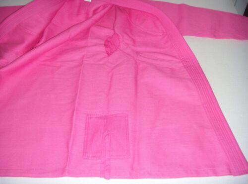 Style Pearl Weave PreShrunk Brazilian BJJ Pink Jiu Jitsu Gi for Girls//Womens