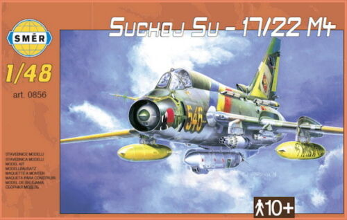 Sukhoi Su-17 22 M4 Fitter-K in USSR 1//48 model kit, Smer 0856 Germany