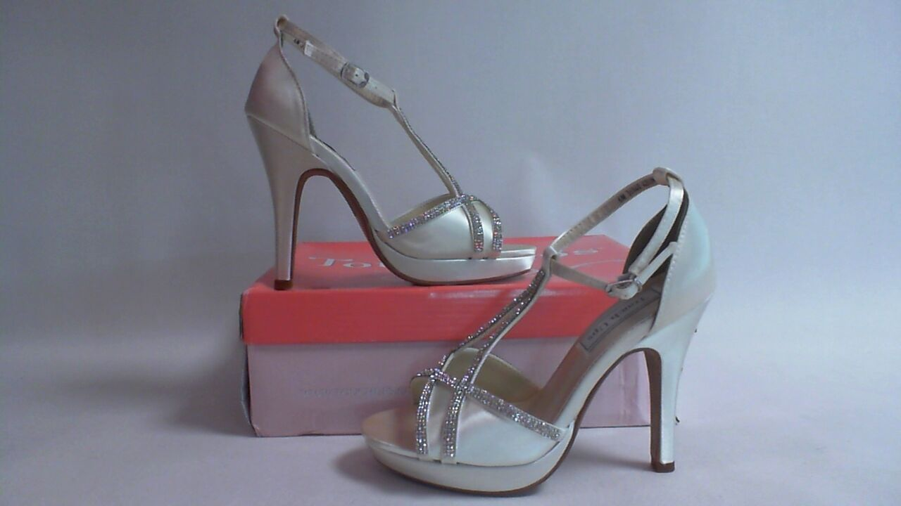 NEW: Touch Ups Wedding/ Evening Shoes - Ivory - Harlow - US 6M UK 4 #18R399