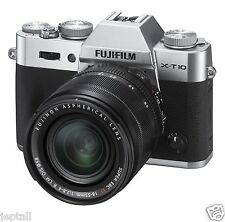 "Fujifilm X-T10 XT10 18-55mm 16.3mp 3"" DSLR Digital Camera Brand New Jeptall"
