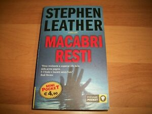 STEPHEN-LEATHER-MACABRI-RESTI-PIEMME-POCKET-2005-MINI-POCKET-THRILLER-OTTIMO