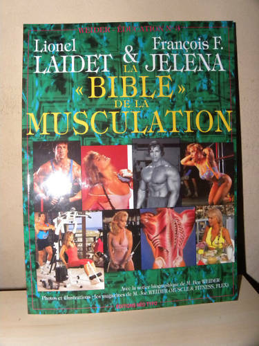 5 EXEMPLAIRES LA BIBLE DE LA MUSCULATION FITNESS MUSCLE FLEX COMBAT