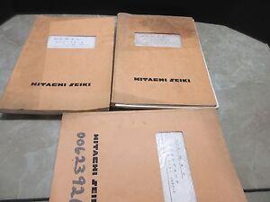 hitachi seiki vm40 manuals