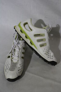 Details about Women's ADIDAS Traxion Golf Shoes, Climacool Adiprene,Green&White Womens 10 B26