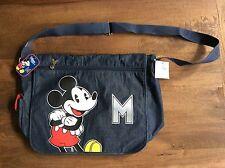 NWT Walt Disney Disney Store London UK MICKEY MOUSE Tote Bag Messenger Bag Nice