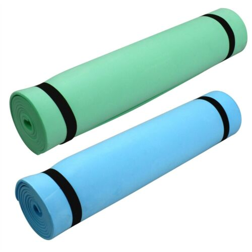 New Roll Up Foam Camping Mat Festival Sleeping Mattress Exercise Yoga Beach