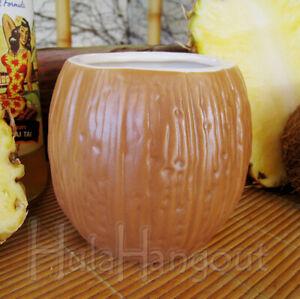Coconut Tiki Mug. Brand New. Free Shipping cocktail bar