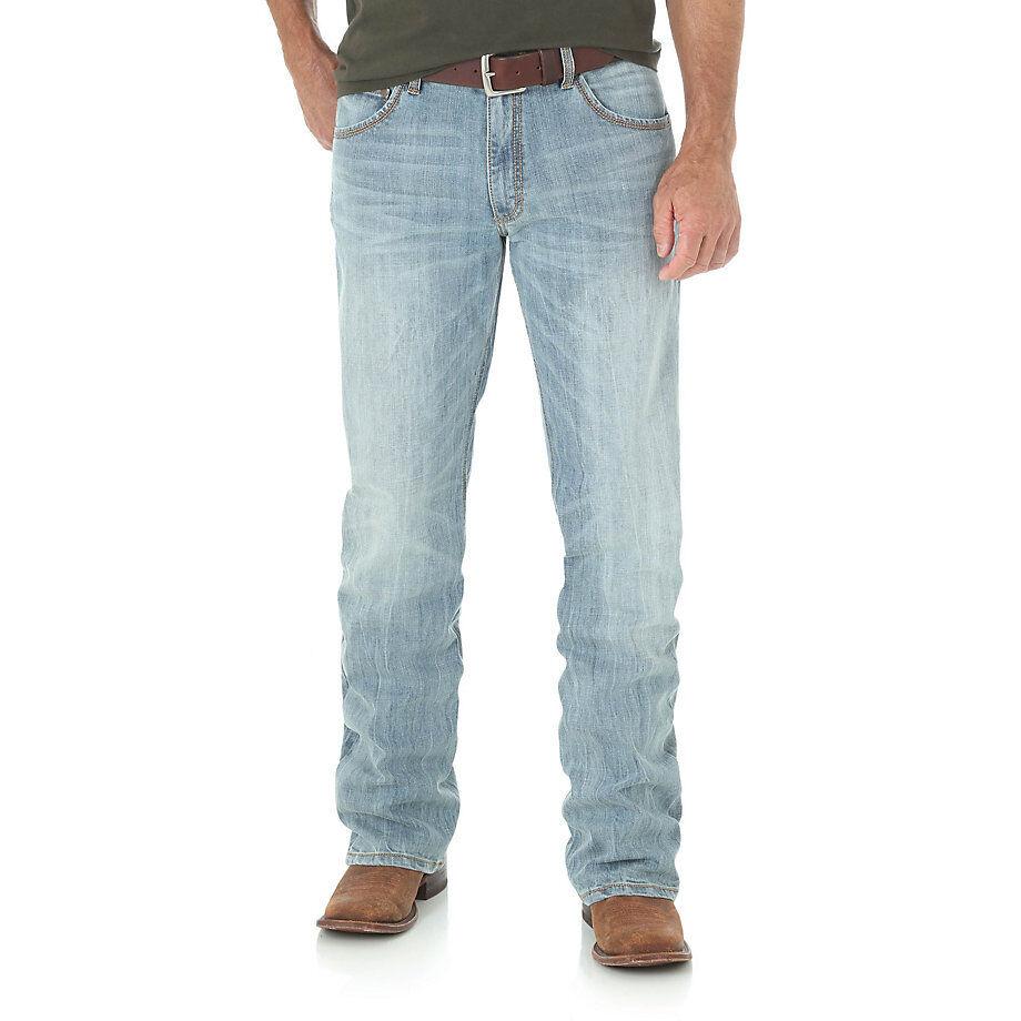 WRANGLER RETRO® 77MWZGF Light bluee -Slim Fit Boot Cut Jean- NO TAX SELL