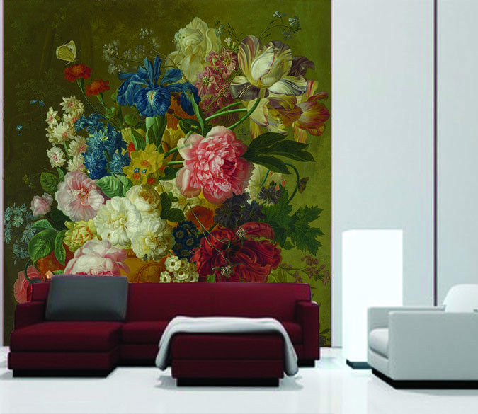 3D Beautiful Flowers 56 Wall Paper Wall Print Decal Wall Deco Indoor Mural Carly