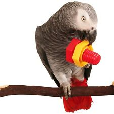 6 Huge Nuts & Bolts Bird Toy Parts Cages Parrot Macaw Cockatoo African Grey