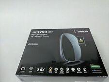 Brand New Sealed Belkin AC1200 DB Wi-Fi Dual-Band AC+ Gigabit Router