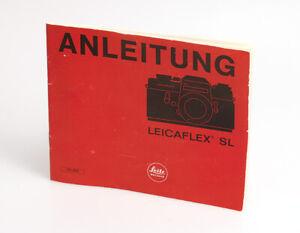 Leitz-Wetzlar-Anleitung-in-deutscher-Sprache-fur-die-Leicaflex-SL