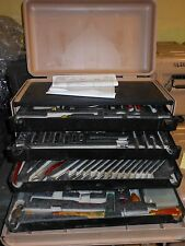 General Mechanic Tool Kit Set Military Rolling Case Tan Proto Professional USA