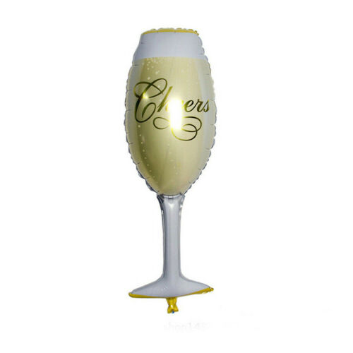 Champagne Cup Beer Bottle Foil Balloon Ballons Birthday Wedding Party Xmas Decor