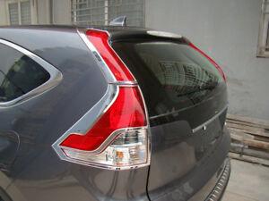 4-ABS-Chrome-Rear-Tail-Light-Lamp-Cover-Trim-for-Honda-CRV-CR-V-2012-2013-2014