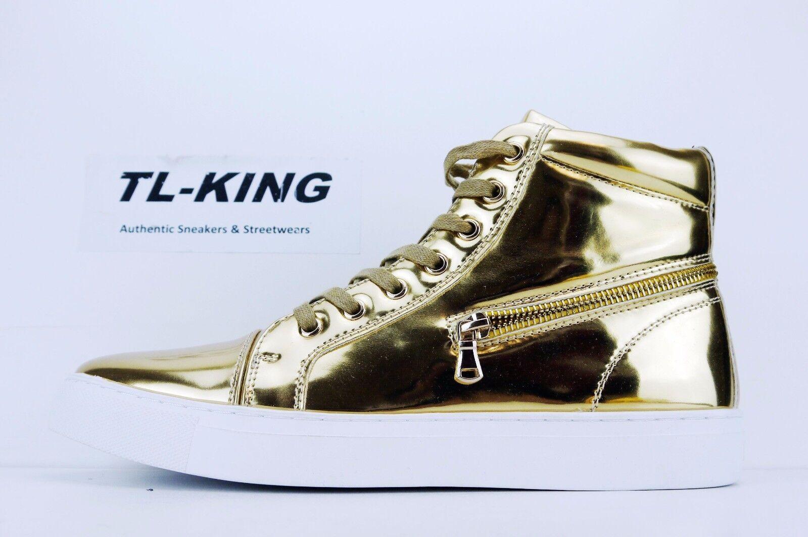 Macinare Molten gold White Fashion Sneaker FC