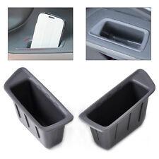 2x Front Original Pattern Door Armrest Storage Box For Ford EcoSport 2013 2014+