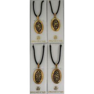 Damascene-Gold-Dove-of-Peace-Design-Oval-Pendant-Necklace-by-Midas-Toledo-Spain
