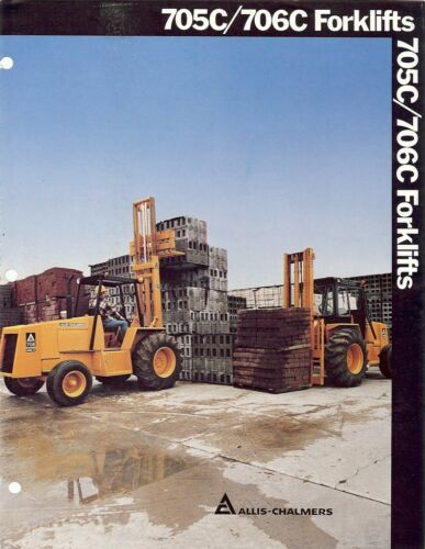 Equipment Brochure - Allis Chalmers - 705C 706C - Forklifts (EB232)