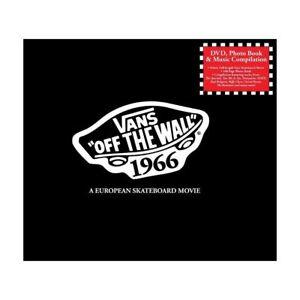 Vans-Off-The-Wall-1966-Film-amp-Book-CD-DVD-A-European-Skate-Movie-Skateboard
