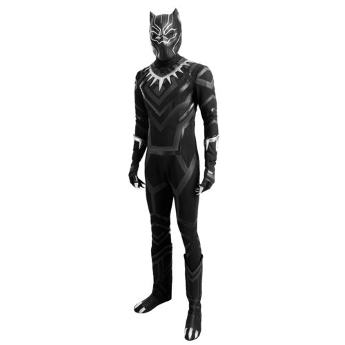HZYM Captain America 3 Civil War Black Panther Cosplay Costume Leather Outfit