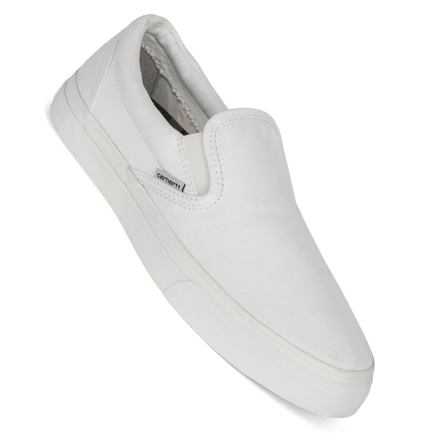 Carhartt chicago slip on off white blanco-calcetines cortos