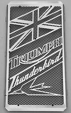 """cache / Grille de radiateur Triumph Thunderbird """"Union Jack"""" + grillage noir"""
