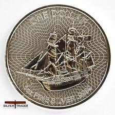 The 2017 Cook Islands The Bounty 1 oz Troy ounce Fine Silver Coin Bullion