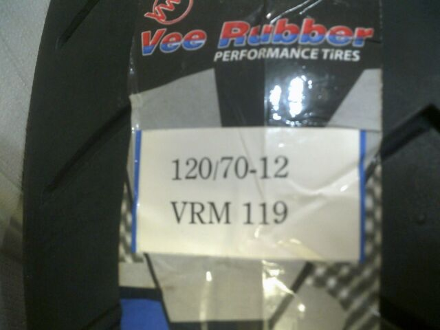 Vee Rubber VRM 119 120/70-12 60P Tubeless Scooter Tyre